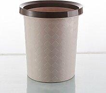 ZXP%lJT-Küchen-Abfalleimer Runde Kunststoff