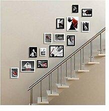 ZXPjjzs Treppe Foto Wand Wanddekoration/kleine