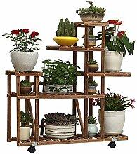 ZXPzZ Blumenständer Indoor Home Balkon Pflanze