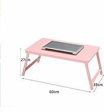 ZXQZ Einfache klapptisch Laptop Schreibtisch Bett