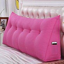 ZXT Bedside Triangle Pillow Pillow, Doppel-großes