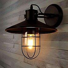 ZXT Vintage Wandlampe industrielle nostalgische