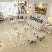 ZXW Teppich- Rechteckige Teppich Wohnzimmer Sofa
