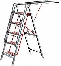 ZXW Wäscheständer - Balkon-Wäscheständer mit