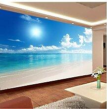 Zxwd Fototapete 3D Ocean View Blauer Himmel Und