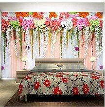 Zxwd Fototapete Pflanze Blume Schlafzimmer Vorhang