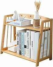 ZXWDIAN Leserahmen Desktop Bookshelf Regal-kleines