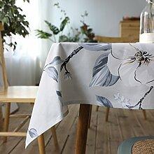 ZXY Kreative Druckerei und Färberei weiß floral