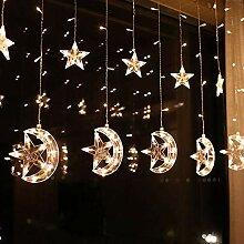 ZXY Lichterkette Weihnachtsbeleuchtung Für