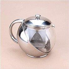 ZXYDD Tee-Set Glas Teekanne Wasserkocher 500ml