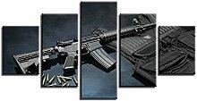 ZXYJJBCL Black Gun Bullet Körper Rüstung
