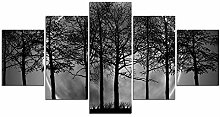 ZXYJJBCL Black Woods at Night Fresh Look Farbe 5
