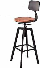 ZY Bar stool Einfacher Barhocker aus