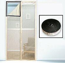 ZY Velcro Anti-Moskito-Screen Tür Velcro Moskito