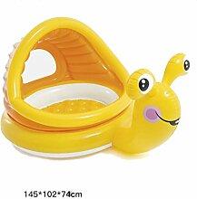 ZY YZ Baby-Swimmingpool-Kinderfamilie aufblasbarer