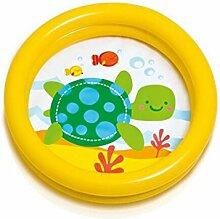 ZY YZ Ocean Ball Pool Baby Aufblasbare Pool Spielzeug Pool Kinder Sand Pool Baby Badewanne (Farbe : Gelb)
