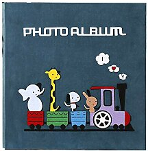 Zyangg-Home Fotoalbum Buch-Tasche Pad Album Slot