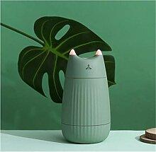 Zybnb Katzenform Luftbefeuchter Ultraschall Mini