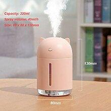 Zybnb USB Luftbefeuchter Cute Rabbit Aroma