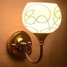 ZYFAK ZY Wandlampe Modern Style Crystal Anhänger
