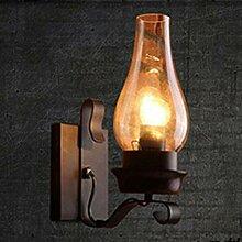 ZYFAK ZY Wandlampe Retro Kreative Eisen