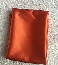 ZYJY Heimtextilien orange gelbe dunkelgrün serviette modell zimmer schal top west to swing serviette 45 * 45cm,dunkel - orange