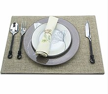 ZYJYus - amerikanische und westliche küche teller set club tischdekoration western geschirr serviette tuch lebensmittel - matte