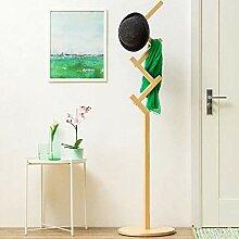 ZYL-YL Holz Farbe Kleiderständer Boden Einfache
