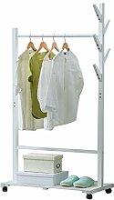 ZYL-YL Massivholz Kleiderständer Boden Einfache