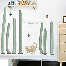 ZYL123 Grüne Pflanze Kaktus Bonsai Topf Katze