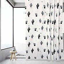 ZYLE Nordic Bad Vorhang Badezimmer Duschvorhang