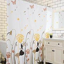 ZYLE PEVA Badezimmer Duschvorhang wasserdicht