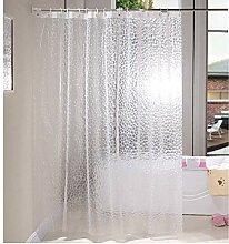 ZYLE PEVA Duschvorhang Wasserdicht Vorhang