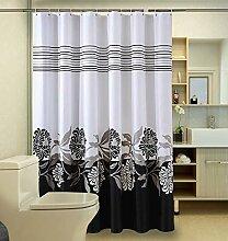 ZYLE Polyester Duschvorhang, Shading Wasserdicht