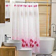 ZYLE Schneeflocke Badezimmer Duschvorhang