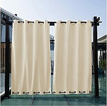 ZYS Vorhang Garten Patio Pavillon Sonnenschutz