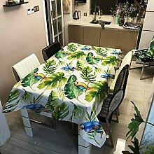 ZYT Hochwertige, lichtechte Tischdecke, elegant