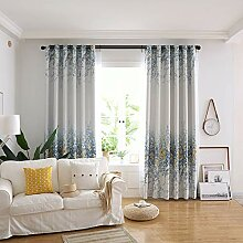 ZYY-Home curtain 2 Stück Verdunkelungsvorhänge