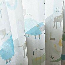 ZYY-Home curtain Animal Gedruckte Gardinen Kinder
