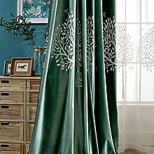 ZYY-Home curtain Baum Vogel Stickerei
