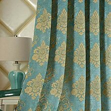 ZYY-Home curtain Jacquard Verdunkelungsvorhänge