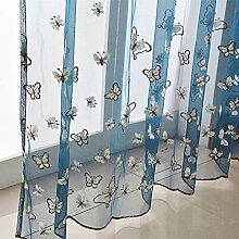 ZYY-Home curtain Schmetterling Transparent