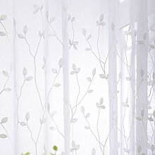 ZYY-Home curtain Stickerei Gardinen Baumwolle