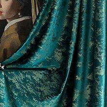 ZYY-Home curtain Verdunkelungsvorhänge Retro