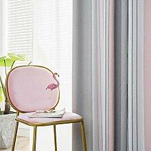 ZYY-Home curtain Verdunkelungsvorhänge Streifen