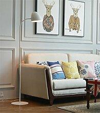 ZYY&LIGHT® Stehlampen Wohnzimmer Schlafzimmer Nachttisch Studie Einfach Modern Bunt Vertikal Stehlampe,white