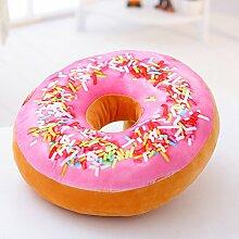 ZYYJG Ornamente Kreative Simulation 3D Donut Büro