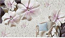 Zyzdsd 3D Tapete Tapete Geprägte Blumen