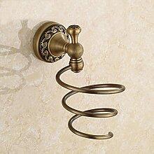 ZYZX Im europäischen Stil Badezimmer Fön Kupfer