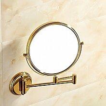 ZYZX Kupfer 8-Zoll-Spiegel kontinentales Gold